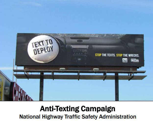 OAAA Anti-Texting Campaign